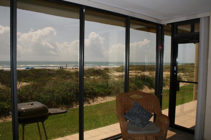 View from Living Room - Beachfront Ground Floor...Steps to the Beach!!! - South Padre Island - rentals
