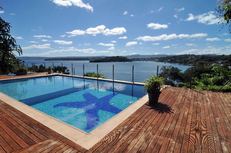 Exterior view - 4 bedroom house with magical views of ocean - Port Vila - rentals