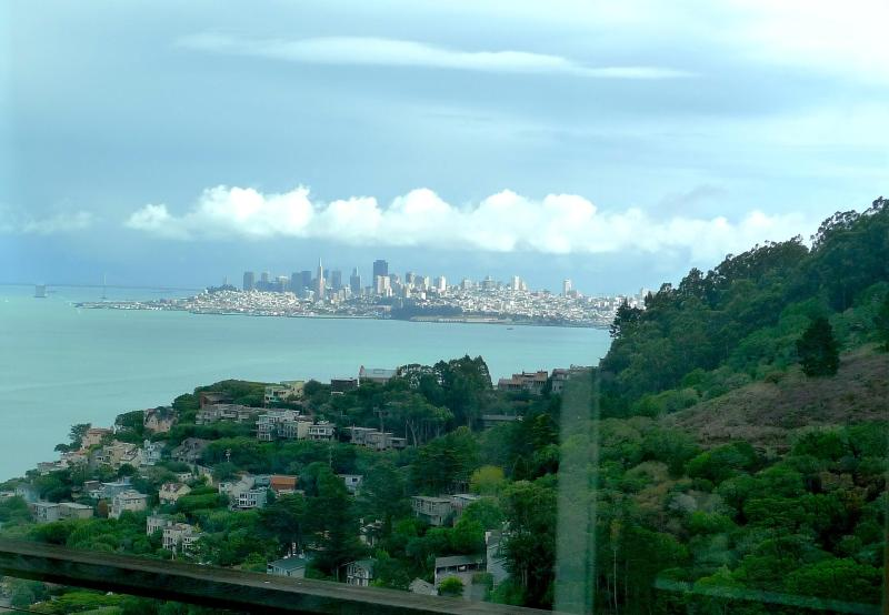 Views from most rooms of San Francisco and the Bay - Views, Close to San Francisco/ Charm of Sausalito - Sausalito - rentals