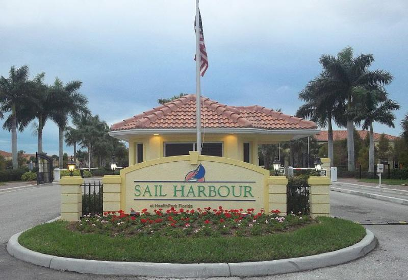 Gated Front Enrance - Fully Furnished Townhome - Sail Harbour - Fort Myers - rentals