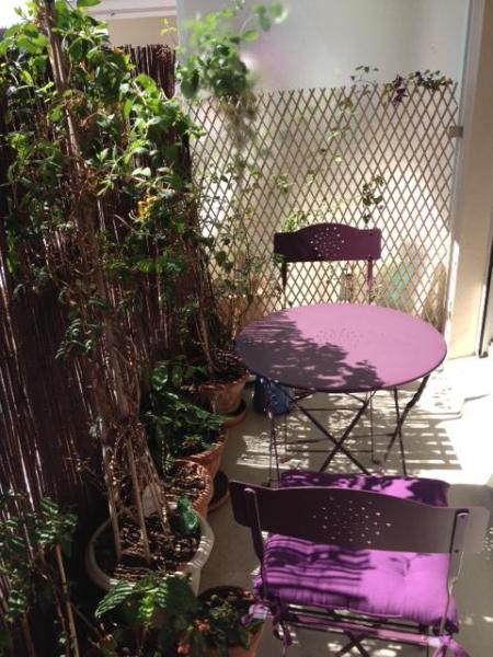 Balcony - Cosy apartment ideal for a family - Paris - rentals