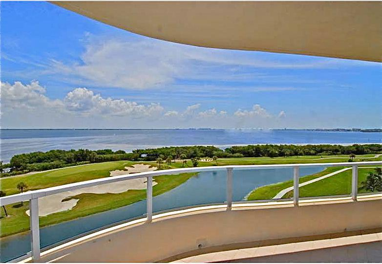 Terrace View Toward Sarasota Bay - Luxury Condo 3 Month Min. Bay View, Gulf Access. - Longboat Key - rentals