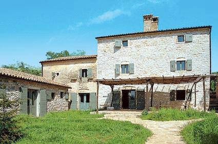 Front view - Villa Stancia Cicada / Štancija Čikada - Foli - rentals
