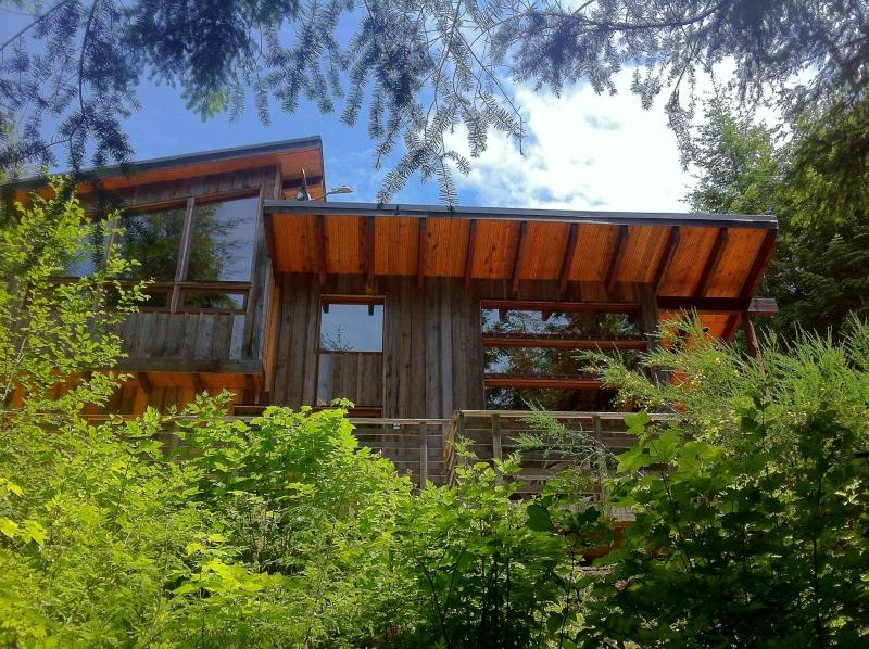 Back of home. - Modern Cabin in the Rainforest - Sooke - rentals