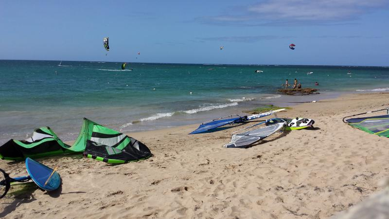 Punta Las Maria Beach, best Kitesurf and Windsurf spot in San Juan  - Affordable 3/2 Apt - 1/2 block from the beach! - San Juan - rentals