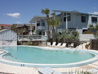 west side of townhouse, front door - Amazing for Families 2 Floor Townhouse-great views - New Smyrna Beach - rentals