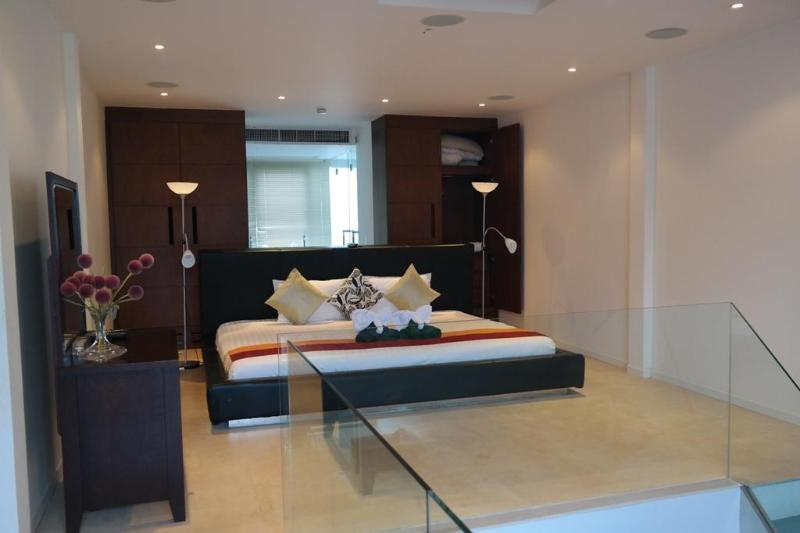 Master Bedroom - Surin Beach-Pent House 2 Bed 100 Mtrs to Bch T3 - Phuket Town - rentals
