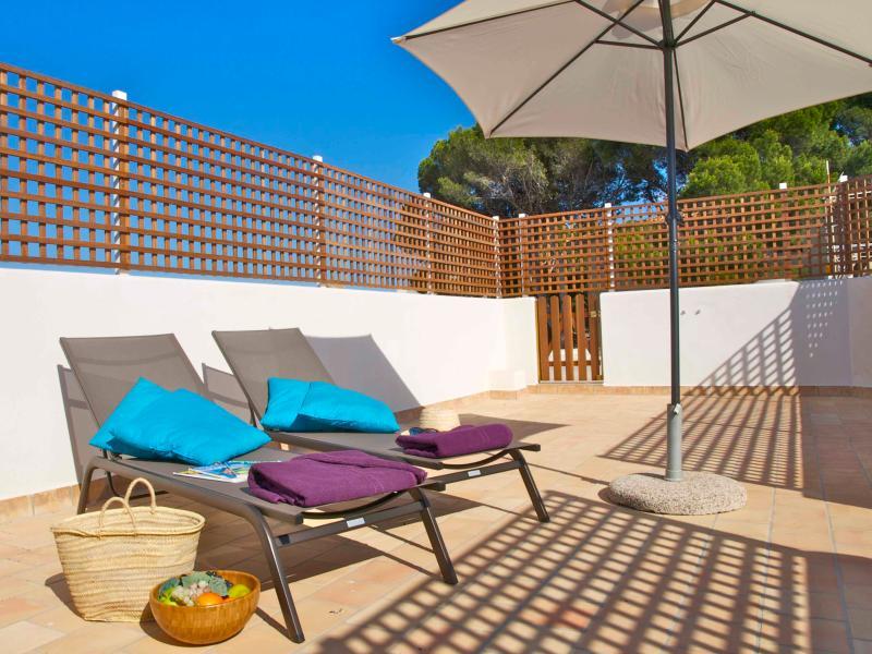 Private terrace - Apartment near beach in Cala Rajada - Cala Ratjada - rentals