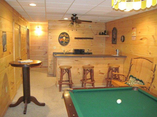 Game room and bar - Bokolomo - Boone - rentals