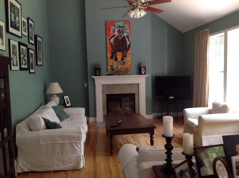 Family Room - Great house in Saratoga Springs-minutes to Track, - Saratoga Springs - rentals
