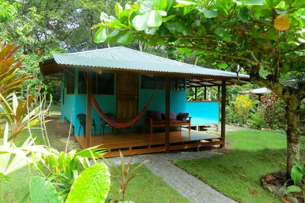Lapa front porch - Casa Lapa @ Cabinas Ola Mar - Puerto Jimenez - rentals