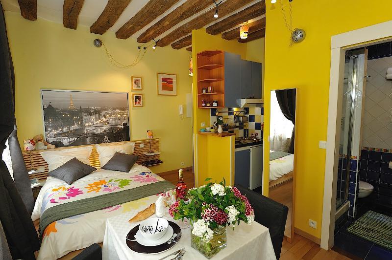 Marais/Lovely studio in Paris #SYRACUSE - Image 1 - Paris - rentals