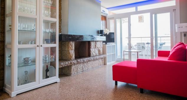 Living Room - Stunning modern apartment with sea views - Malaga - rentals