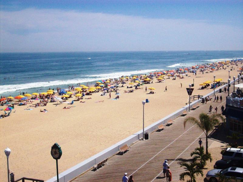View from Balcony - Boardwalk, Ocean Front Condo, Ocean City Maryland - Ocean City - rentals