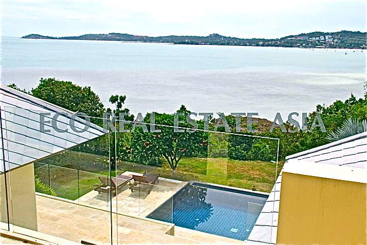 Luxury Pool Villa - GRAND sea view of the bay! - Image 1 - Koh Samui - rentals