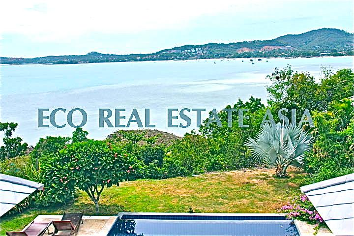 Luxury Pool Villa - GRAND sea view of the bay! - Image 1 - Koh Samui - rentals