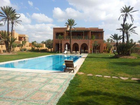Full house pool side - Morrocan style Luxury Villa with private pool - Marrakech - rentals