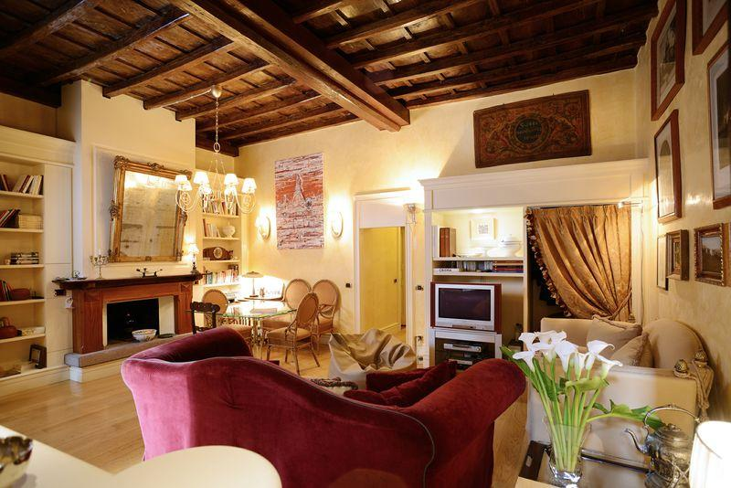 salone - Vatican S.peter Charm And Luxury With Terrace - Rome - rentals