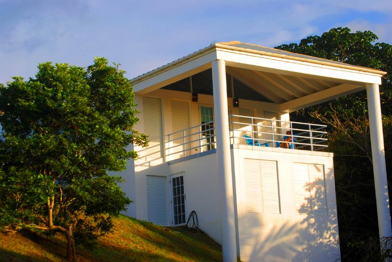 Covered balcony with ocean views - Casa Prana Puntas Rincon Puerto Rico Private!!! - Rincon - rentals