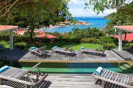 Hillside Angelina on 6 acre estate boasts spectacular sunset views & walk to beach - Image 1 - Gustavia - rentals