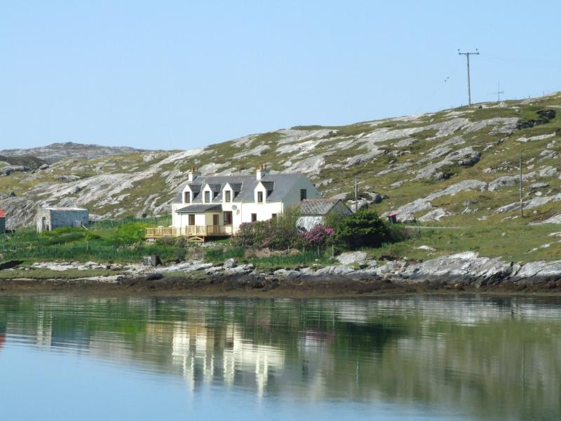 Front of House - Old Post Office House - Isle of Harris - rentals