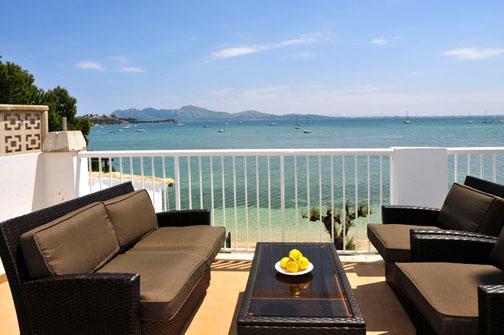 4 bedroom Apartment in Puerto Pollenca, Mallorca, Mallorca : ref 2093271 - Image 1 - Puerto Pollensa - rentals