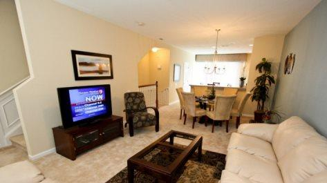 Professionally Appointed 3 Bedroom 3.5 Bathroom Town Home in Vista Cay - Image 1 - Orlando - rentals