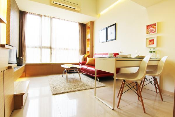 Luxury Serviced Apts near MRT Taipei 101 with pool - Image 1 - Taipei - rentals