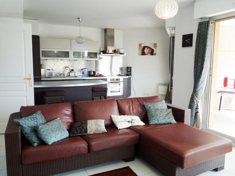 Roi Albert 2 Bedroom Flat with Large Terrace and Pool, in Cannes - Image 1 - Cannes - rentals