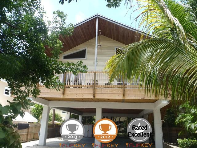 Front of Vacation Paradise Home - Beautiful Private Key Largo Home with Beach Access - Key Largo - rentals