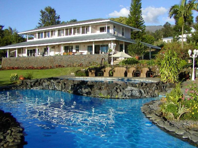 5 acre estate with 2 swimming pools & tub & pool table - Paradise Perfect Estate 2 pools-hot tub-Ocean View - Kailua-Kona - rentals