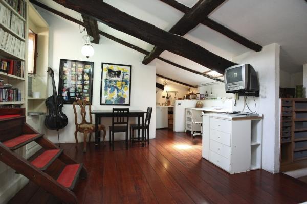 CR655l - Trastevere Beautiful Terrace Maisonette - Image 1 - Rome - rentals