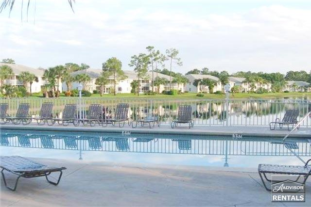Lovely lakefront coach home with fresh tropical decor just minutes from beach - Image 1 - Naples - rentals