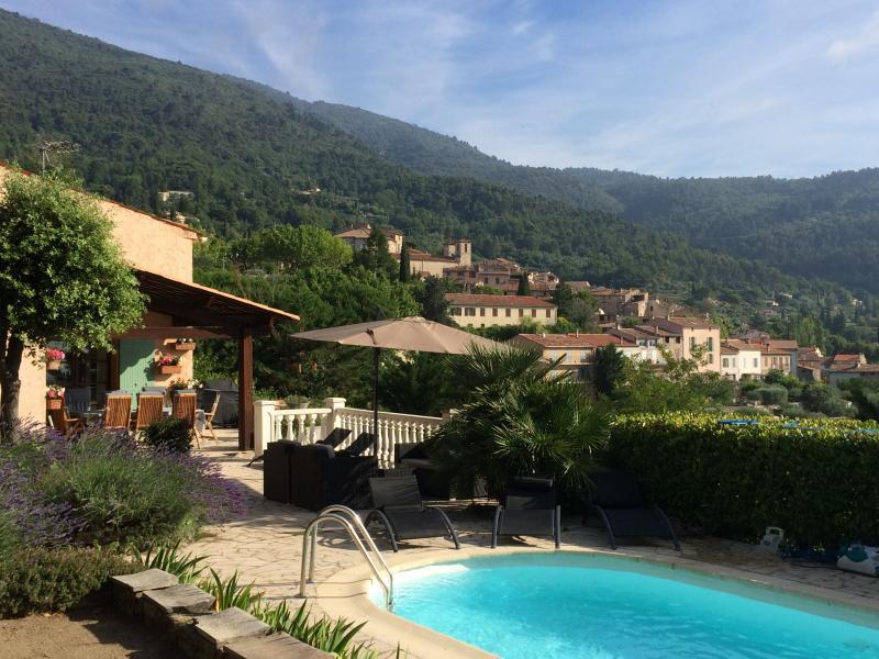 View of Seillans - Luxury contemporary villa in Seillans, Provence - Seillans - rentals
