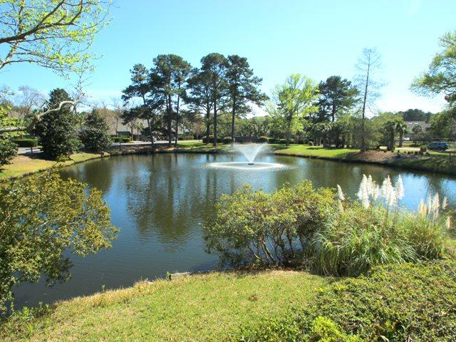 Lagoon in back of villa - Inverness, 912 - Hilton Head - rentals