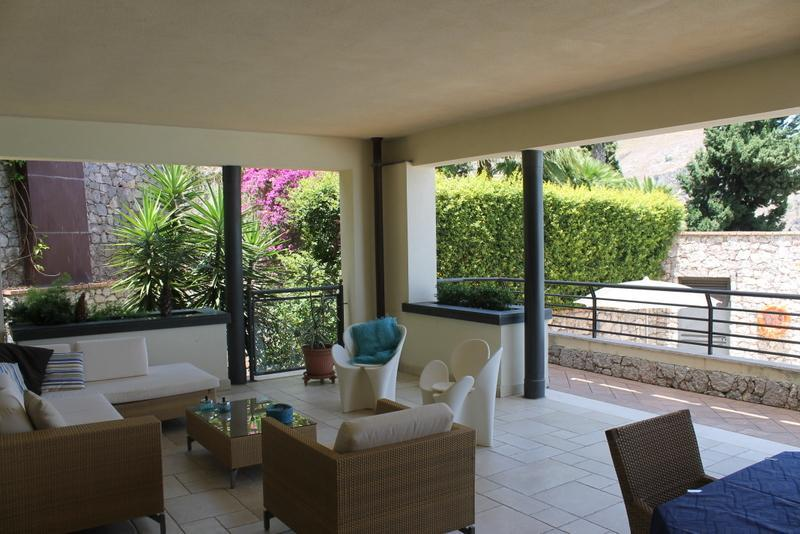 Patio - Taormina Chic Apartment , Pool , Parking , Center - Taormina - rentals