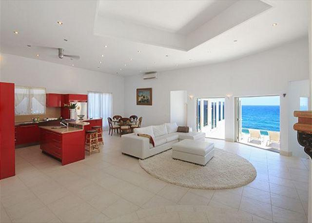 Bliss:Dawn Beach Estates cliffside villa with water views | Island Properties - Image 1 - Saint Martin-Sint Maarten - rentals