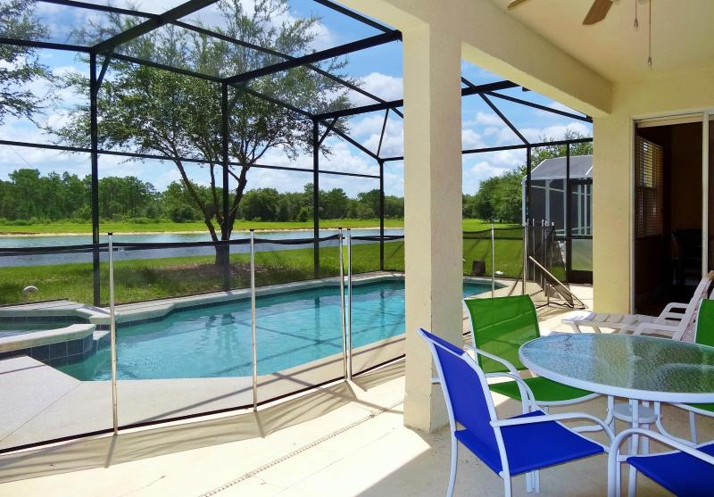 Pool - LAKE FOREST VIEW, 7BR/4BA, POOL/SPA, FREE WIFI - Orlando - rentals