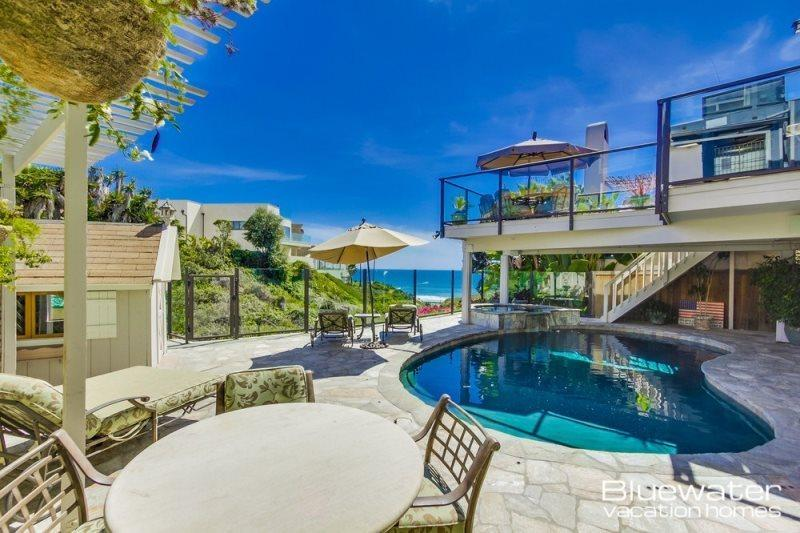 Pool Deck - Overlooks the Pacific - Pacific Beach Family Vacation Home - Pacific Beach - rentals