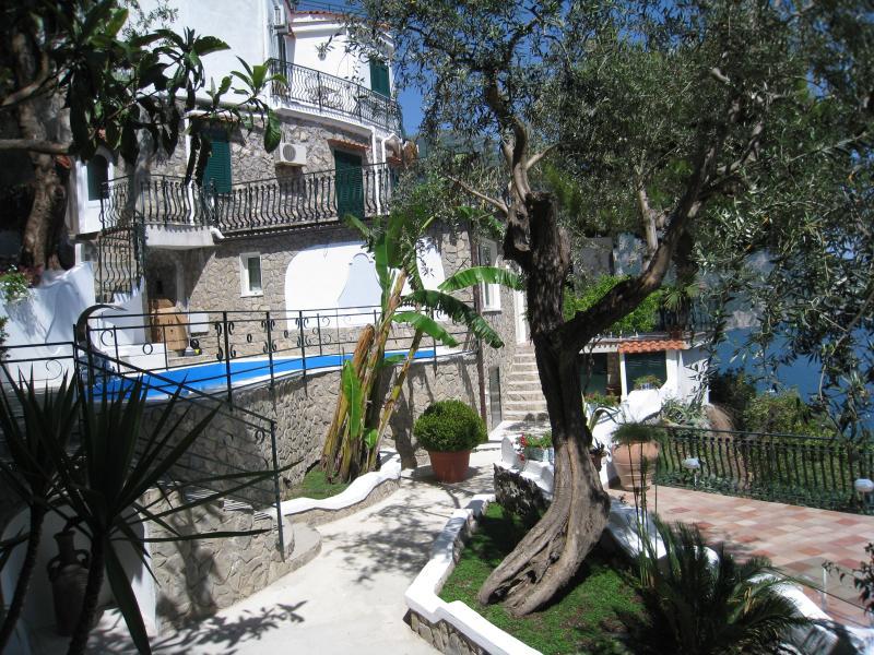 Amalfi Coast Villa Near Positano with Beach Access - Villa Venere - Image 1 - Positano - rentals