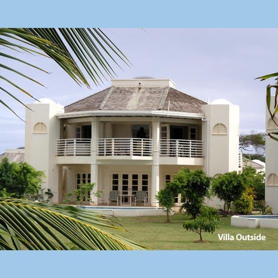 villa from Golf Course - Villa Beau Rêve, Tobago - Scarborough - rentals
