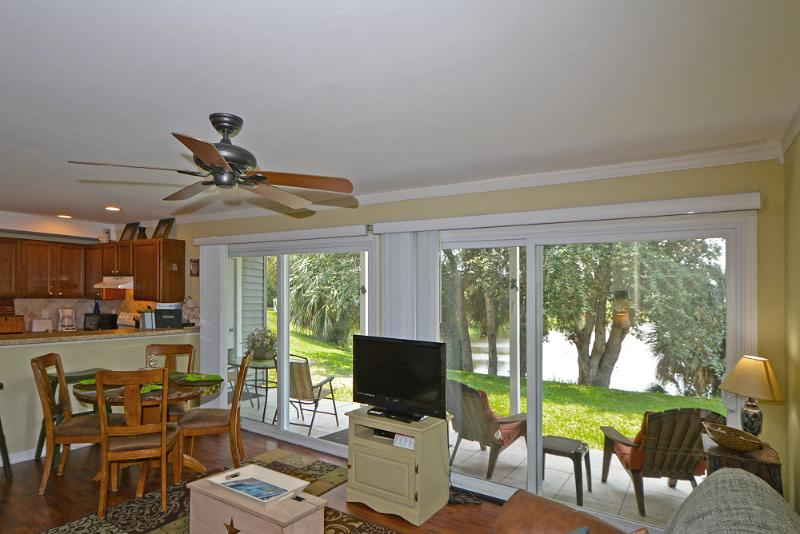 View from Foyer - $67 A NITE NOW THRU WINTER ** SNOWBIRDS MONTH$1250+ fees -Free wifi -parking ** - Destin - rentals