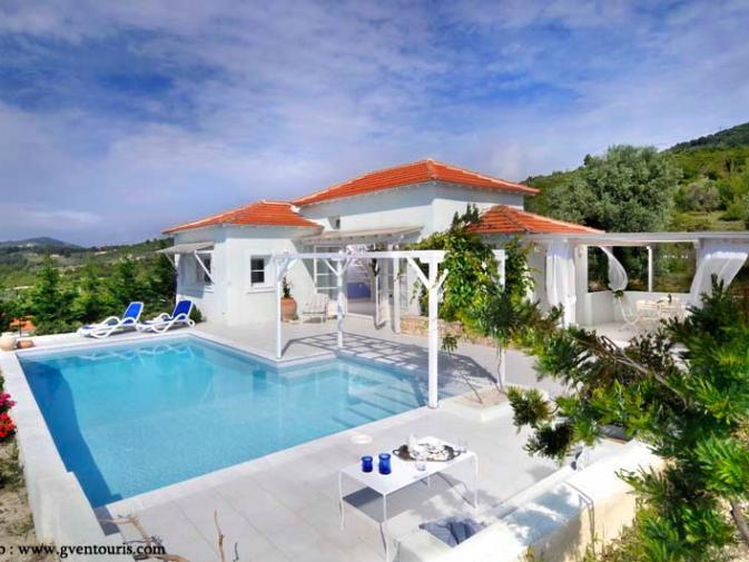 Stylish Villa with Private Pool - Image 1 - Alonissos - rentals