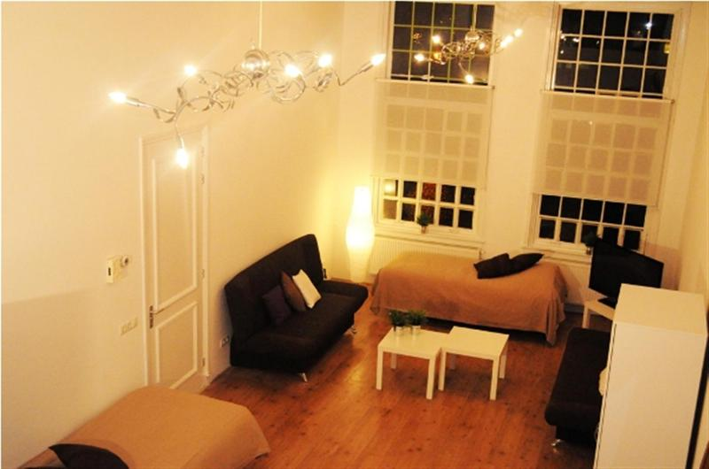 Living Room Leidseplein Heights Apartment Amsterdam - Leidseplein Heights - Amsterdam - rentals