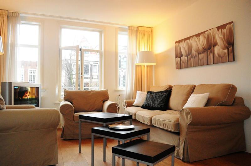 Living Room Hudson River Apartment Amsterdam - Hudson River - Amsterdam - rentals