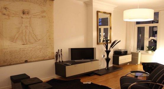 Living Room Da Vinci Apartment Amsterdam - Da Vinci - Amsterdam - rentals