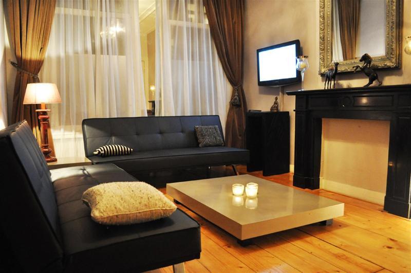 Living Room Poseidon Apartment Amsterdam - Linnaeustraat Charm Apartment - Amsterdam - rentals