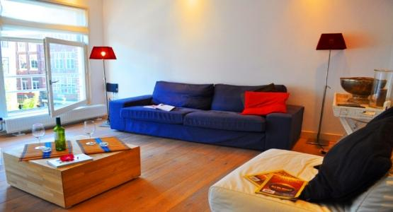 Living Room Red Rose Apartment Amsterdam - Red Rose - Amsterdam - rentals