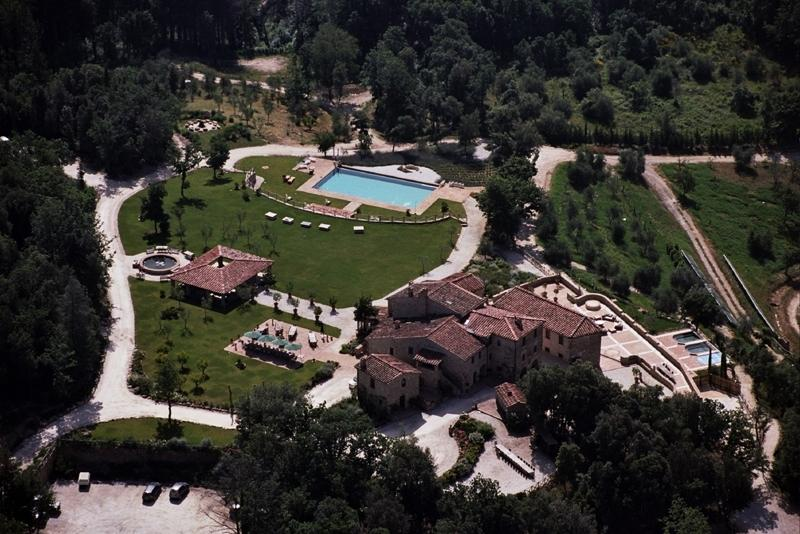 Villa Tocchi holiday vacation luxury large spa villa to rent italy, tuscany, near siena, monticiano, holiay vacation luxury large spa - Image 1 - Monticiano - rentals
