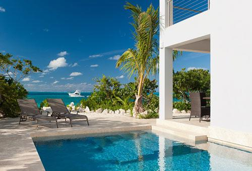 A photograph of Cottages At Grace Bay, Providenciales (Provo), Turks and Caicos Islands, BWI. - Water Edge Villa - Providenciales - rentals